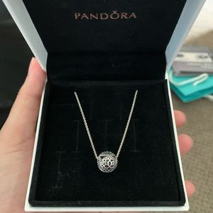 BN Pandora Necklace with Charm